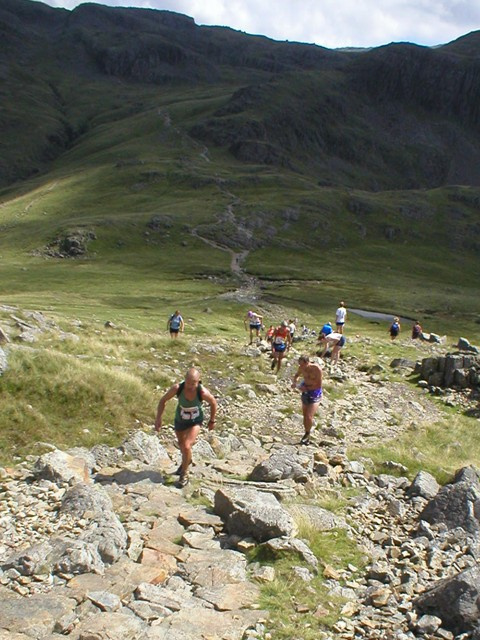 trail running, fell running or a bit of both? Borrowdale Fell Race