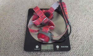 Lightweight at 118g including batteries