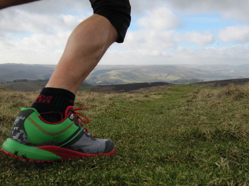 putting the MTR 201's to test in the Peak District